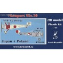 Nieuport Nie.10 Japan & Poland - 1/72 kit