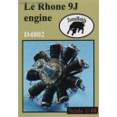 Le Rhone 9J engine - 1/48 update set