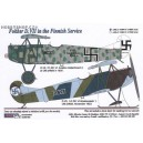 Fokker D.VII Finnish - 1/48 decals