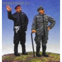 German Pilot + Mechanic WW I - 1/48 figures